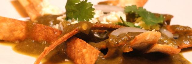 Chilaquiles Verde Verde