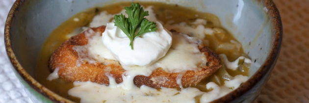 Mexican Onion Soup a la Cocina California