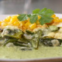 Poblano and Corn Omelette